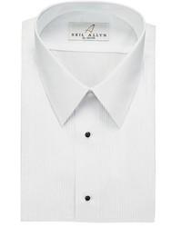 Neil Allyn Tuxedo Shirt Laydown Collar 18 Inch Pleat Laydown Collar