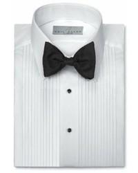 Neil Allyn Tuxedo Shirt Polycotton Laydown Collar 14 Inch Pleat