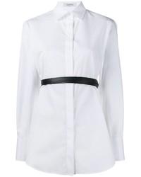 Valentino Belted Poplin Shirt