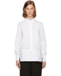 Lanvin White Contrast Shirt