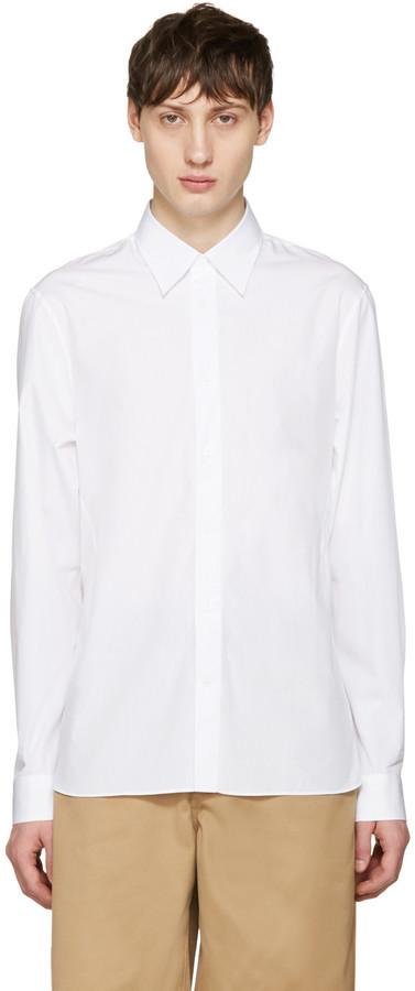 c3b58d2c2f396 ... Acne Studios White Glasgow Pop Shirt ...
