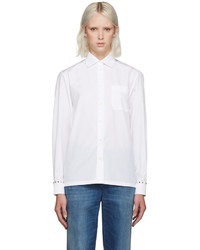 Valentino White Rockstud Untitled Shirt
