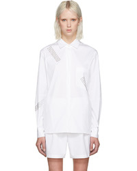 Christopher Kane White Studded Shirt