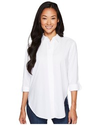 NYDJ Wide Placket Shirt Long Sleeve Button Up
