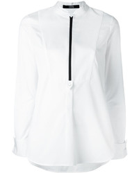 Karl Lagerfeld Zip Neck Shirt