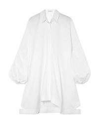 JW Anderson Asymmetric Cotton Poplin Dress