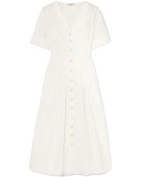 Sea Calah Cotton Poplin Midi Dress