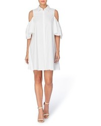 Catherine zito cold shoulder shirtdress medium 3639854