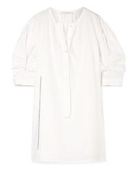 Marc Jacobs Cotton Poplin Mini Dress