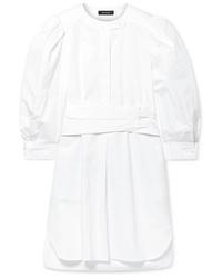 Isabel Marant Galaxy Cotton Poplin Mini Dress