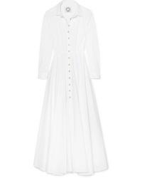 Evi Grintela Juliette Cotton Poplin Maxi Dress