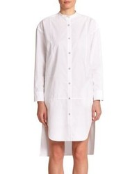 Rag and Bone Rag Bone Axis Hi Lo Cotton Shirtdress