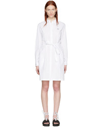 Kenzo White Tiger Shirt Dress