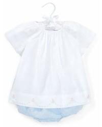 Ralph Lauren Childrenswear Batiste Embroidery Blouse W Linen Bloomers Size 6 24 Months