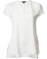 James Perse Short Sleeve Blouse
