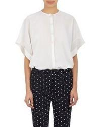 Givenchy Kimono Sleeve Blouse White