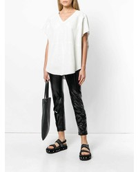 Drome Oversized Perforated Blouse