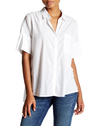 Abound Short Sleeve Boxy Woven Shirt