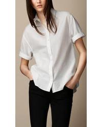 Burberry Barre Stripe Box Fit Shirt