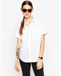 Asos Collection Short Sleeve Shirt With Pockets