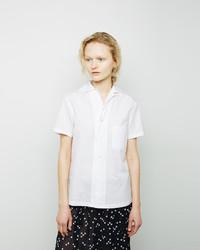 Comme Des Garcons Comme Des Garcons Comme Des Garons Comme Des Garons Short Sleeved Cotton Broadcloth Shirt