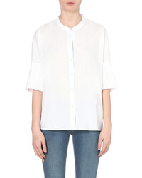 James Perse Cotton Blend Tunic Shirt