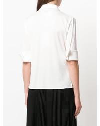 MM6 MAISON MARGIELA Cropped Sleeves Shirt