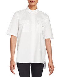 Equipment Major Pocketed Cotton Shirt