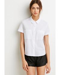 Womens Button Down Short Sleeve Shirts Artee Shirt