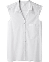 Helmut Lang Helmut Cap Sleeve Shirt