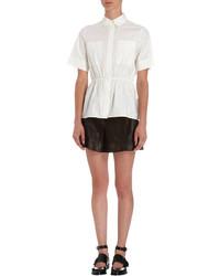 Rhi Gathered Waist Short Sleeve Shirt