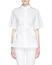 3.1 Phillip Lim Shirred Waist Poplin Shirt