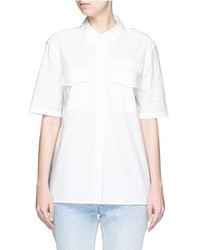 Equipment Short Sleeve Major Poplin Shirt