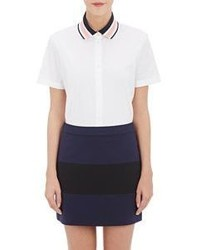 Tory Sport Striped Collar Shirt