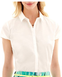 jcpenney Worthington Short Sleeve Shirt