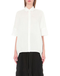 Y's Ys Longline Cotton Shirt