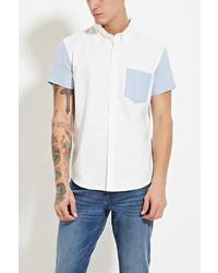 21men 21 Contrast Sleeve Shirt