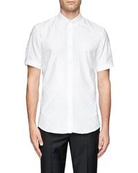 Nobrand Allover Skull Jacquard Shirt