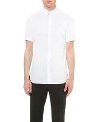 Alexander McQueen Brad Pitt Stretch Cotton Shirt
