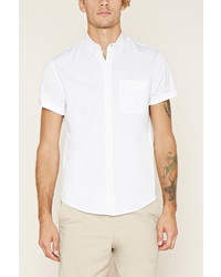 Forever 21 Buttoned Collar Shirt