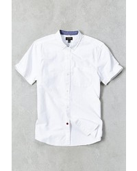 Cpo Left Coast Oxford Short Sleeve Button Down Shirt