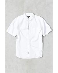 Cpo Washed Short Sleeve Dress Shirt