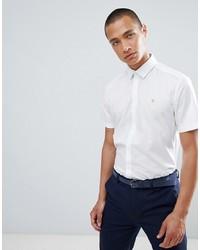 Farah Smart Farah Slim Short Sleeve Smart Shirt