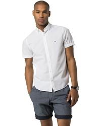 Tommy Hilfiger Final Sale  New York Fit Short Sleeve Linen Shirt
