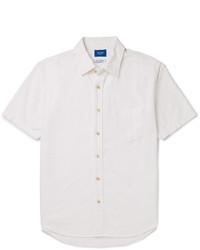 Beams Japan Slim Fit Cotton Oxford Shirt