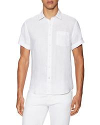 Linen Short Sleeve Sportshirt