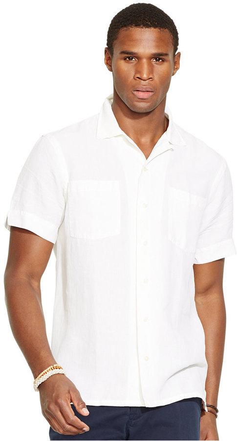 4a3b012ef7c1b8 ... Polo Ralph Lauren Linen Silk Camp Shirt ...