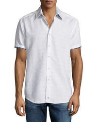Lyman short sleeve woven sport shirt medium 680185