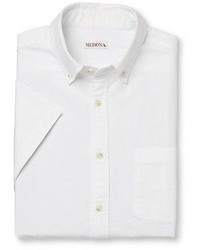 Meronatm Short Sleeve Button Down Shirt White Merona