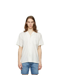 Bather Off White Camp Shirt